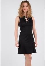 Molly Bracken Molly Bracken Ladies woven dress Black