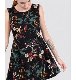 Molly Bracken Robe floral noire
