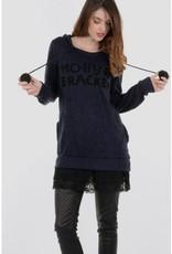 Molly Bracken Molly Bracken Ladies knitted sweater Navy