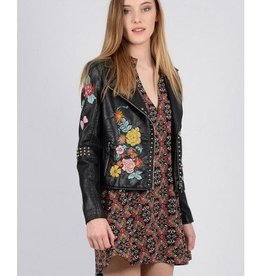 Molly Bracken Blouson Hippie Rock noir