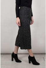 Molly Bracken Molly Bracken Ladies woven dress Ash black