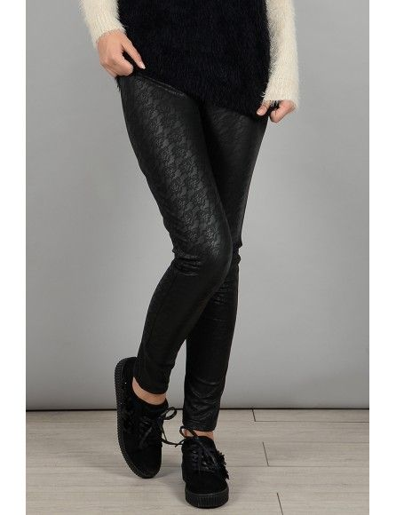 Molly Bracken Molly Bracken Leggings dentelle noir