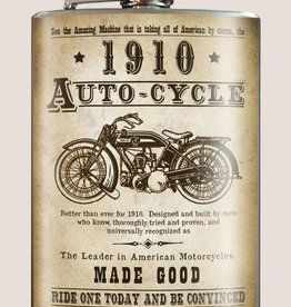 Trixie & Milo Flask - Auto-Cycle 1910