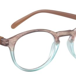 ICU Reading Glasses Brown & Blue