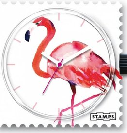 S.T.A.M.P.S. Watch Pink feathers