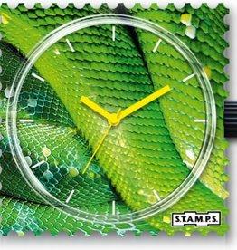 S.T.A.M.P.S. Montre Green python