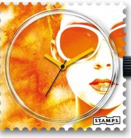 S.T.A.M.P.S. Montre Lady orange