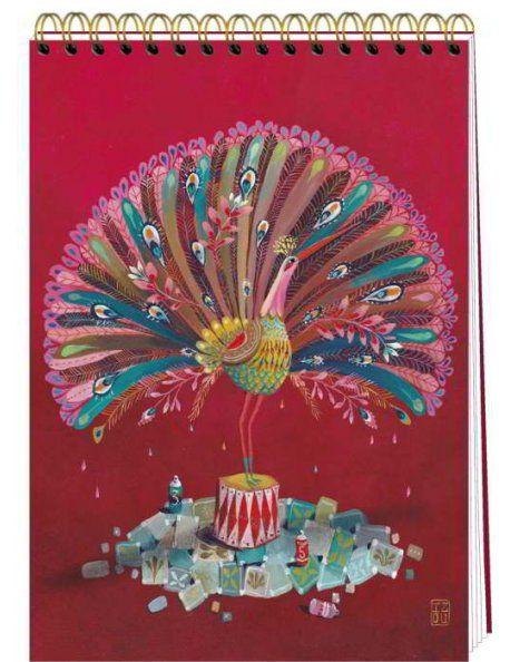 Correspondances Izou Grand carnet à dessin La Parade
