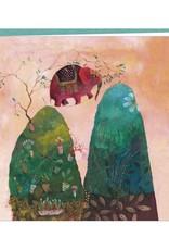 Correspondances Izou Double card L'éléphant funambule