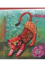 Correspondances Izou Double card Red cat