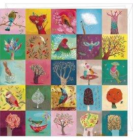 Correspondances Carte double Birds and Trees