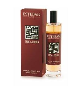 Esteban Teck & tonka - Vaporisateur 100 ml