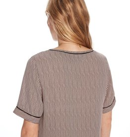 Maison Scotch Printed short-sleeved top