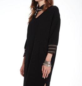 Maison Scotch V-neck sweater dress