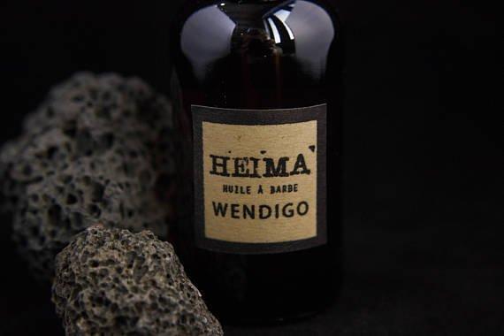 Heimä Heimä Huile à barbe Wendigo