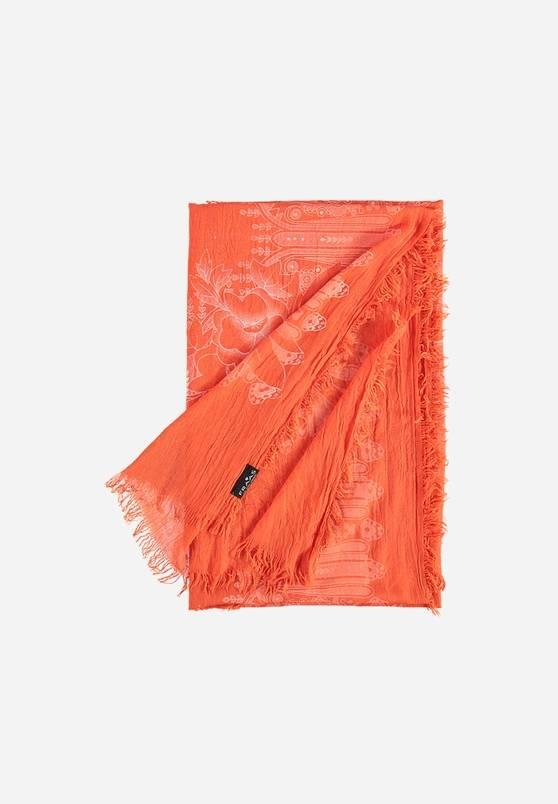Fraas Fraas Étole en polyester avec imprimé paisley