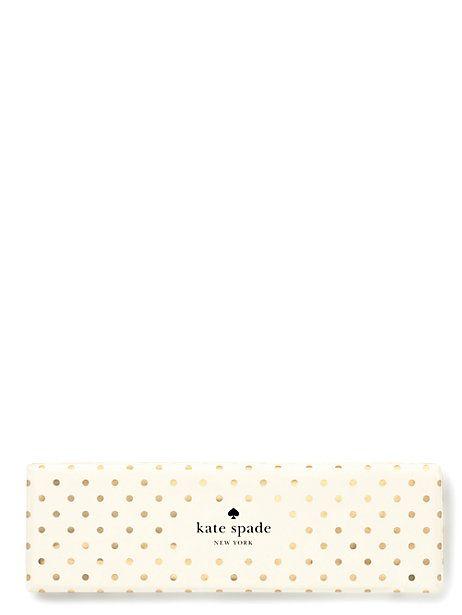 Kate Spade Kate Spade Ballpoint pen - Gold dots