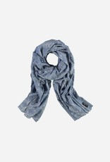 Fraas Fraas Scarf with paisley print in pure cotton
