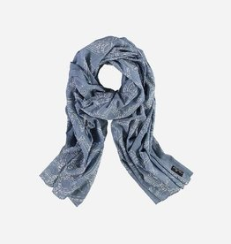 Fraas Scarf with paisley print in pure cotton