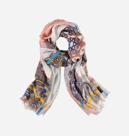 Fraas Modal-blend stole in grafik print