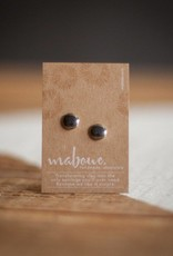 Maboue Maboue Mirror porcelain studs
