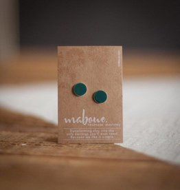 Maboue Teal studs