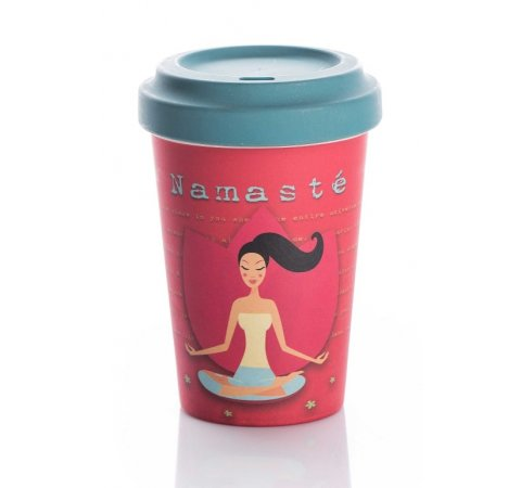 ChicMic Chic Mic Bamboo Cup Yoga love
