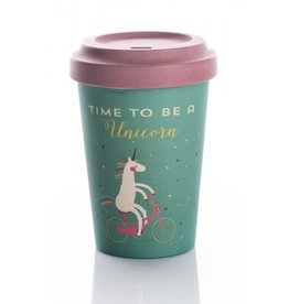 ChicMic Tasse en bambou Time for unicorns