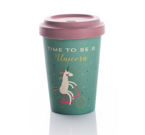 ChicMic Chic Mic Bamboo Cup Time for unicorns