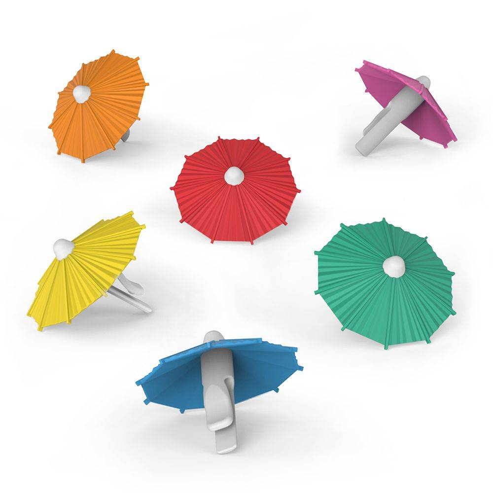 Fred Fred My Tai - Marqueurs de verre en ombrelle