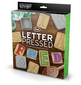 Fred Letter pressed - Cookie cutters