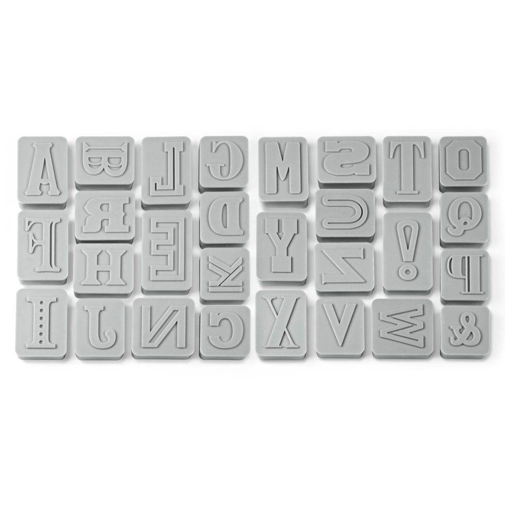 Fred Fred Letter pressed - Cookie cutters