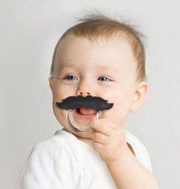 Fred Chill baby mustache - Pacifier