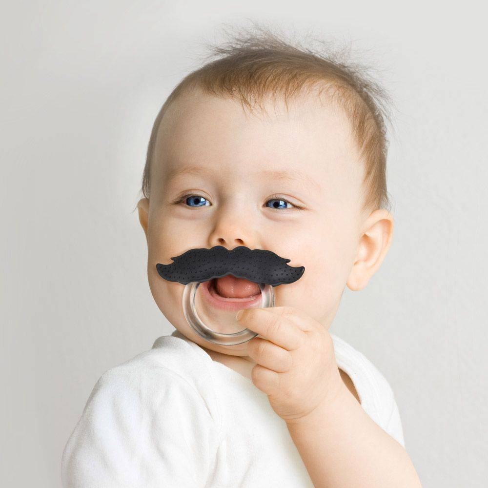 Fred Fred Chill baby mustache - Pacifier