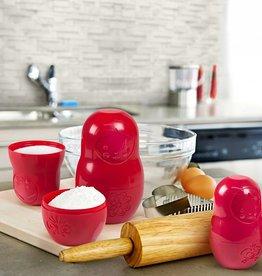 Fred M-Cups - Tasses à mesurer (rouge)