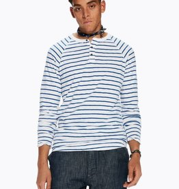 Scotch & Soda T-shirt grandad en jersey flammé