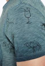 Scotch & Soda Scotch & Soda T-shirt délavé à l'huile