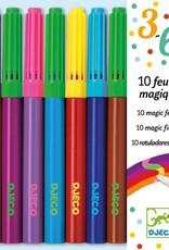 Djeco DJ08827 10 feutres magiques