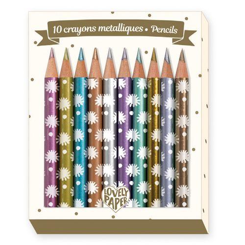 Djeco DD03730 Mini crayons / Chichi