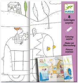 Djeco Coloriage surprises / Cache-cache
