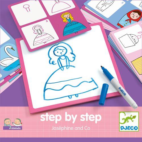 Djeco DJ08320 Eduludo / Step by step Joséphine