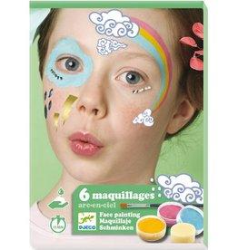 Djeco DJ09205 Coffret de maquillage / Arc-en-ciel