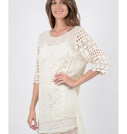 Molly Bracken Robe macramé