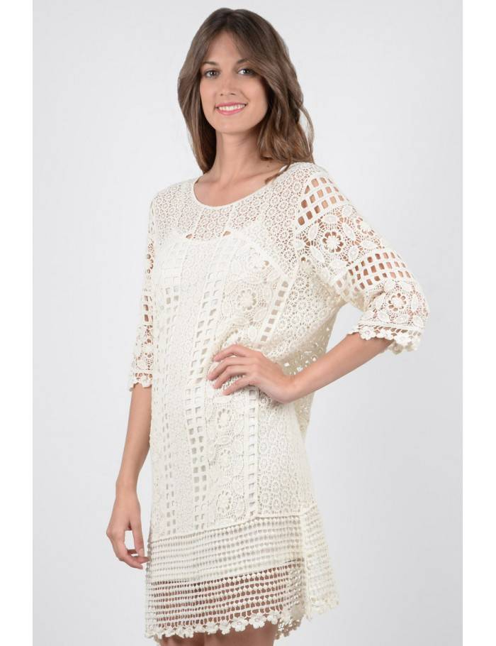 Molly Bracken K757P18 Ladies knitted dress