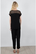 Molly Bracken LA15P18 Ladies woven top