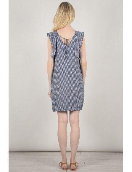 Molly Bracken P959BE18 Ladies woven dress