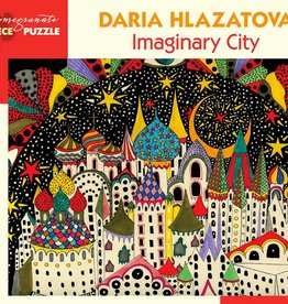 JK061 Daria Hlazatova - Imaginary city
