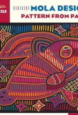 JK048 Mola Design - Pattern from Panama