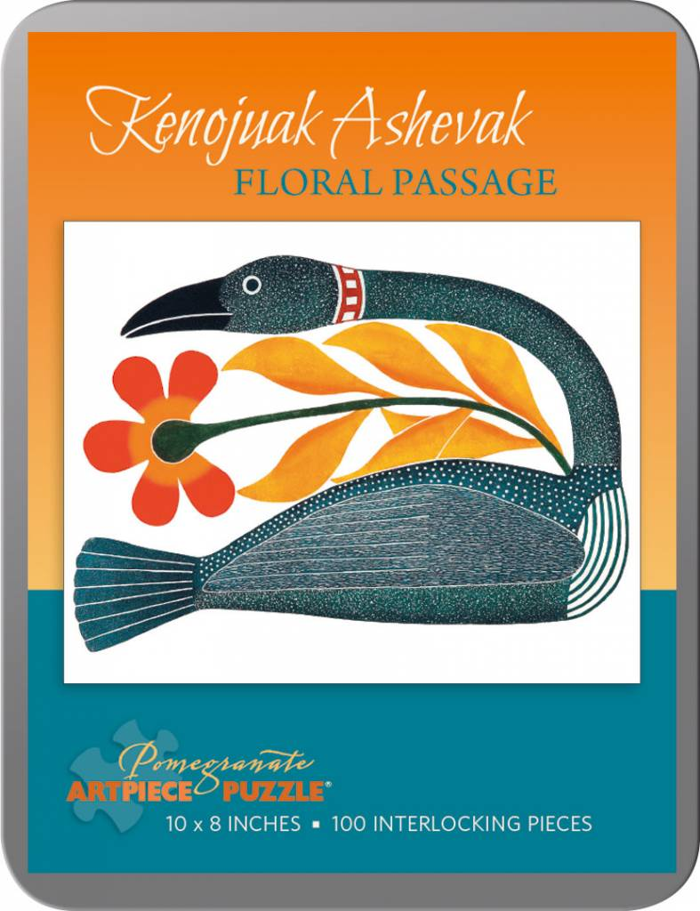 AA789 Kenojuak Ashevak : Floral passage