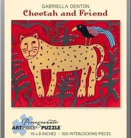 AA797 Gabriella Denton : Cheetah & friend